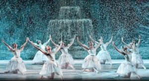 ballet in the snow