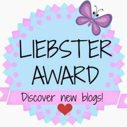 The Liebster Award Blue